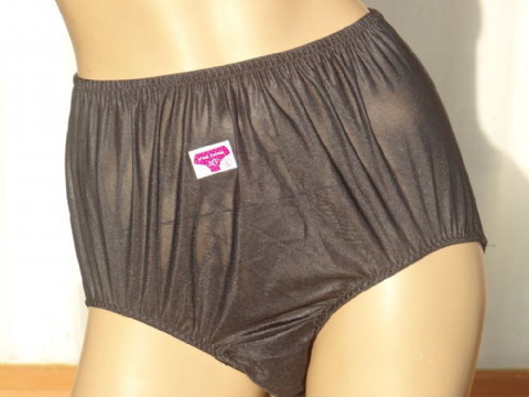 GORGEOUS VINTAGE STYLE SILKY NYLON PANTIES  SIZE:- UK - MEDIUM - 4 COLOURS